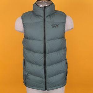 Mountain Hardwear Men Puffy vest S green 650 down